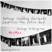 Wedding day banners