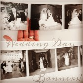 Wedding Decorations, Just Married, Wedding Banner