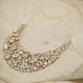 Swarovski Crystal Bridal Bib Necklace