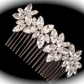 Swarovski bridal comb - hair jewel