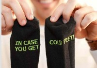 in case of cold feet socks