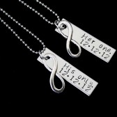 her one his only necklace set