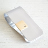 Initial Money Clip