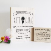 Whimsical Heart Wedding stamps, Invitation and RSVP