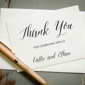 Thank you Card Stamp