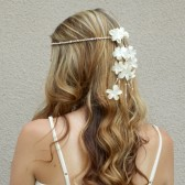 floral-headband, cream, ivory, hair-flowers, hair-accessory, floral-crown, floral-headband, hair-jewelry