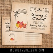 Jar of Hearts Save the Date