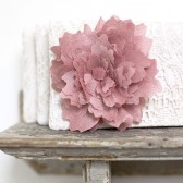 lace wedding clutch, blush pink