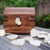 Large Guest Book Box