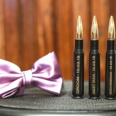 Black 50 Caliber Bottle Opener Groomsmen Gifts