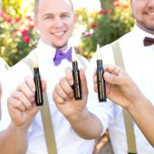 Groomsmen Gift 50 Caliber Bottle Opener in Black