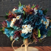 Large Blue Hydrangea Bouquet