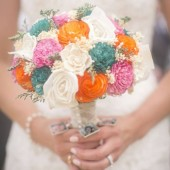 summer wedding, bridal bouquet, curious floral, keepsake bouquet, wedding flowers