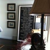 Wedding Bus Roll using your words