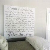 Bedroom wall art customized colors and words