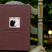Flush Mount Leather Album - Brown