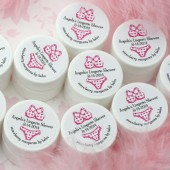 Lingerie Shower Lip Balm Favors