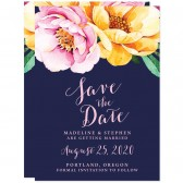 Love In Bloom Save The Dates by The Spotted Olive