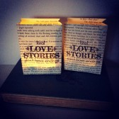 Mini Book Page Luminaries, Book Lanterns, Book Decorations, Book Themed Wedding, Love Story