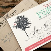 Love Tree Post Card