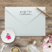 Lovely Heart Self Inking Stamp | Blush Paper Co.