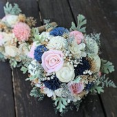 wedding bouquet, bridal bouquet, alternative bouquet, dusty miller, wedding flowers, curious floral