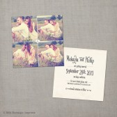 "Save the Date Card - the ""Makayla 2"""