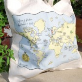 Custom Map Tote