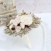 Winter Bridesmaid Keepsake Bouquet