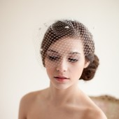 Dotted Birdcage Veil - Marilyn