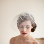 Double Layer Birdcage Veil - Jane