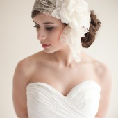 Lace Bridal Cap - Francesca