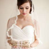 Silk Mantilla Veil - Grace