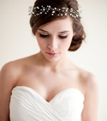 Silver Crystal and Rhinestone Crown