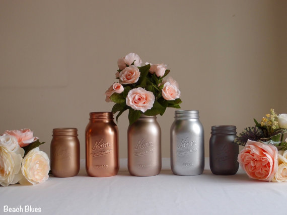 metallic mason jars 2