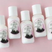 bachelorette favors, lotions, sex and the city, bachelorette party, girls weekend, last fling