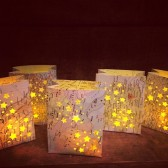 mini map luminarias, Travel favors, travel wedding decor, destination wedding, maps, travel, travel lovers