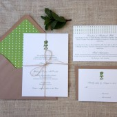 Mint Julep Wedding Invitations