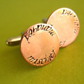 Mischief Managed Cuff Links
