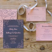 Moder Love Wedding Invitation