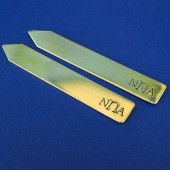 Monogram Collar Stays