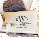 Monogram Coffee Bags