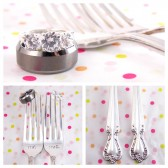 Mr. Mrs. Wedding Fork Set