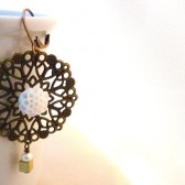 Snow White Lace Earrings