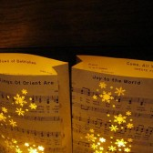 Winter Wedding, Snowflake Luminaries