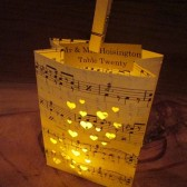 Music Place Cards