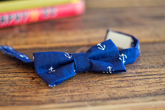 nautical bow tie