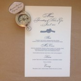 Nautical Knot Menu