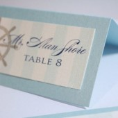 Whitney Collection – Nautical Cruise Ship Place Cards