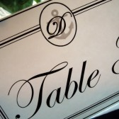 Neat and Nautical Table Number Sign